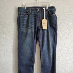 Abercrombie Langdon Slim 36 32 New with Tags